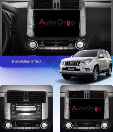 Navigatie Toyota Land Cruiser (2009-2016), Android 9.1, QUADCORE|MTK| / 1GB RAM + 16 ROM, 9 Inch - AD-BGPLC09MTK17