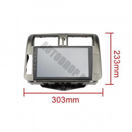 Navigatie Toyota Land Cruiser (2009-2016), Android 9.1, QUADCORE|MTK| / 1GB RAM + 16 ROM, 9 Inch - AD-BGPLC09MTK15