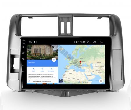 Navigatie Toyota Land Cruiser (2009-2016), Android 9.1, QUADCORE|MTK| / 2GB RAM + 32GB ROM, 9 Inch - AD-BGPLC09MTK2GB11