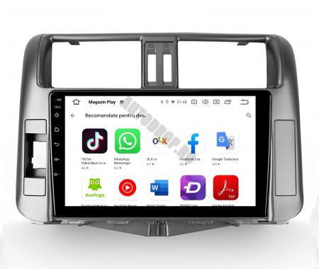 Navigatie Toyota Land Cruiser (2009-2016), Android 9.1, QUADCORE|MTK| / 1GB RAM + 16 ROM, 9 Inch - AD-BGPLC09MTK5