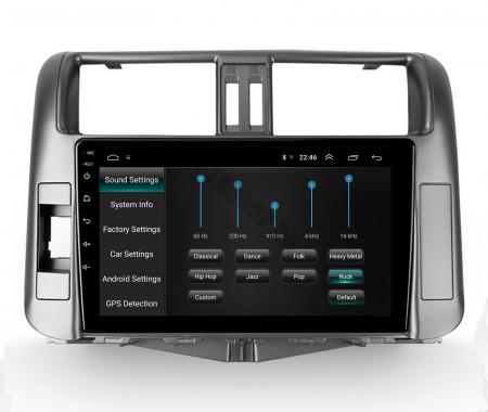 Navigatie Toyota Land Cruiser (2009-2016), Android 9.1, QUADCORE|MTK| / 2GB RAM + 32GB ROM, 9 Inch - AD-BGPLC09MTK2GB7