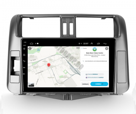 Navigatie Toyota Land Cruiser (2009-2016), Android 9.1, QUADCORE|MTK| / 1GB RAM + 16 ROM, 9 Inch - AD-BGPLC09MTK10