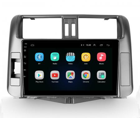 Navigatie Toyota Land Cruiser (2009-2016), Android 9.1, QUADCORE|MTK| / 2GB RAM + 32GB ROM, 9 Inch - AD-BGPLC09MTK2GB2