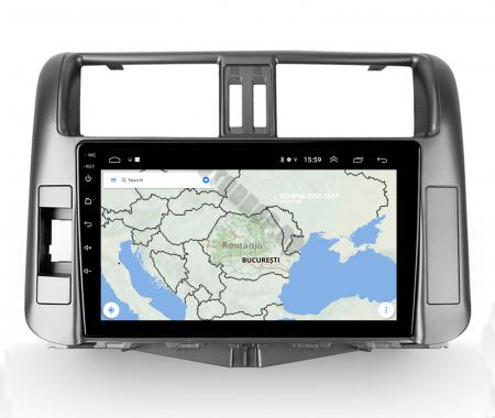Navigatie Toyota Land Cruiser (2009-2016), Android 9.1, QUADCORE|MTK| / 1GB RAM + 16 ROM, 9 Inch - AD-BGPLC09MTK12