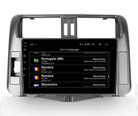 Navigatie Toyota Land Cruiser (2009-2016), Android 9.1, QUADCORE|MTK| / 1GB RAM + 16 ROM, 9 Inch - AD-BGPLC09MTK8
