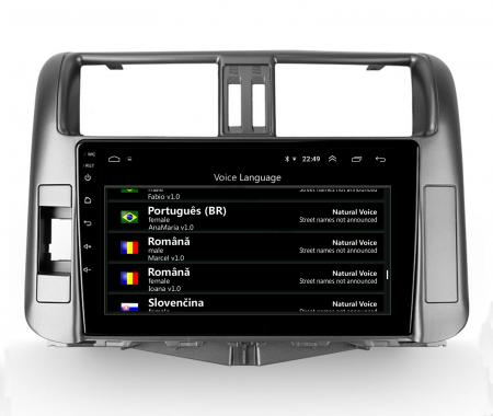 Navigatie Toyota Land Cruiser (2009-2016), Android 9.1, QUADCORE|MTK| / 2GB RAM + 32GB ROM, 9 Inch - AD-BGPLC09MTK2GB8