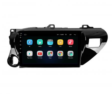 Navigatie Toyota Hilux (2015+), Android 9.1, QUADCORE|MTK| / 2GB RAM + 32GB ROM, 9 Inch - AD-BGPHIX16MTK2GB2