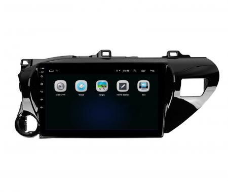Navigatie Toyota Hilux (2015+), Android 9.1, QUADCORE|MTK| / 1GB RAM + 16 ROM, 9 Inch - AD-BGPHIX16MTK4