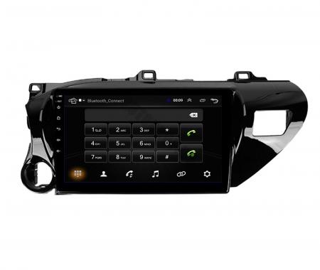 Navigatie Toyota Hilux (2015+), Android 9.1, QUADCORE|MTK| / 1GB RAM + 16 ROM, 9 Inch - AD-BGPHIX16MTK5