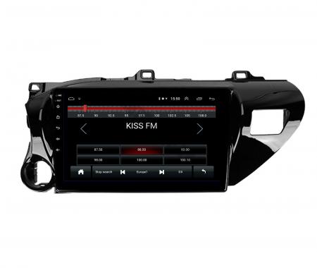 Navigatie Toyota Hilux (2015+), Android 9.1, QUADCORE|MTK| / 1GB RAM + 16 ROM, 9 Inch - AD-BGPHIX16MTK1