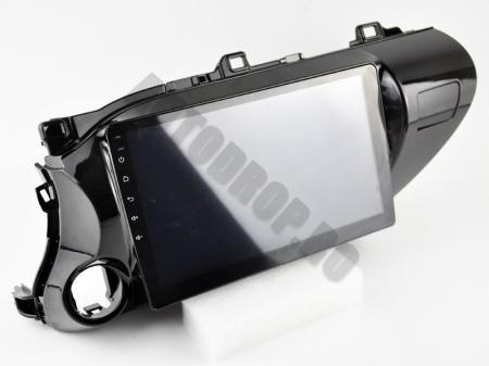 Navigatie Toyota Hilux (2015+), Android 9.1, QUADCORE|MTK| / 1GB RAM + 16 ROM, 9 Inch - AD-BGPHIX16MTK18