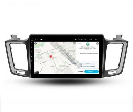 Navigatie Toyota RAV4 (2013-2018), Android 9.1, QUADCORE|MTK| / 1GB RAM + 16 ROM, 9 Inch - AD-BGPRAV413MTK8