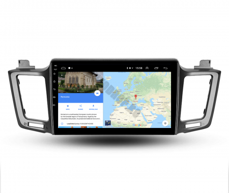 Navigatie Toyota RAV4 (2013-2018), Android 9.1, QUADCORE|MTK| / 1GB RAM + 16 ROM, 9 Inch - AD-BGPRAV413MTK7