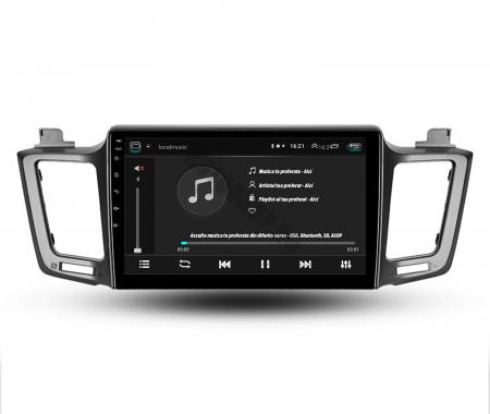 Navigatie Toyota RAV4 (2013-2018), Android 9.1, QUADCORE|MTK| / 1GB RAM + 16 ROM, 9 Inch - AD-BGPRAV413MTK4