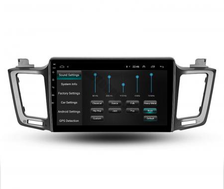 Navigatie Toyota RAV4 (2013-2018), Android 9.1, QUADCORE|MTK| / 1GB RAM + 16 ROM, 9 Inch - AD-BGPRAV413MTK12