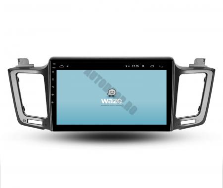 Navigatie Toyota RAV4 (2013-2018), Android 9.1, QUADCORE|MTK| / 1GB RAM + 16 ROM, 9 Inch - AD-BGPRAV413MTK11