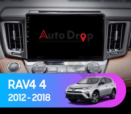 Navigatie Toyota RAV4 (2013-2018), Android 9.1, QUADCORE|MTK| / 1GB RAM + 16 ROM, 9 Inch - AD-BGPRAV413MTK15