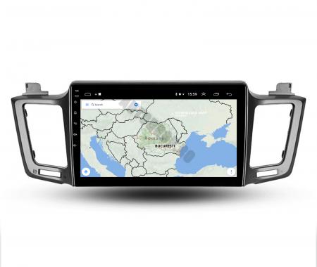 Navigatie Toyota RAV4 (2013-2018), Android 9.1, QUADCORE|MTK| / 1GB RAM + 16 ROM, 9 Inch - AD-BGPRAV413MTK9
