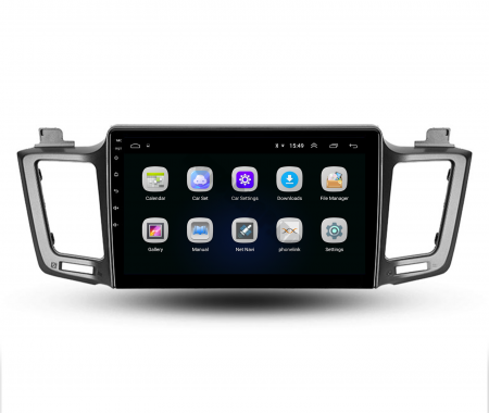 Navigatie Toyota RAV4 (2013-2018), Android 9.1, QUADCORE|MTK| / 1GB RAM + 16 ROM, 9 Inch - AD-BGPRAV413MTK3