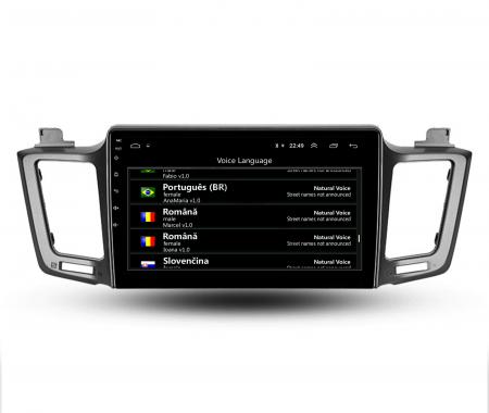 Navigatie Toyota RAV4 (2013-2018), Android 9.1, QUADCORE|MTK| / 1GB RAM + 16 ROM, 9 Inch - AD-BGPRAV413MTK13