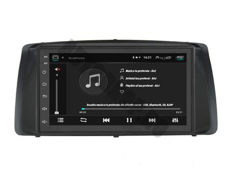 Navigatie Toyota RAV4 (2001-2006), QUADCORE|MTK| / 1GB RAM + 16GB ROM, 7 Inch - AD-BGPOCOROLLAMTK6