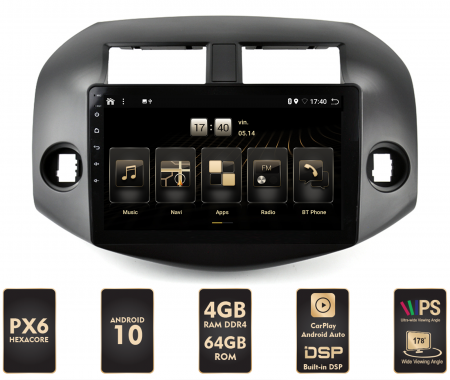 Navigatie Android Toyota RAV4 PX6   AutoDrop.ro [0]