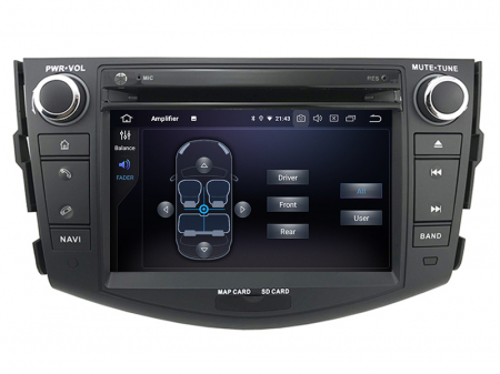 Navigatie Toyota RAV4 (2006-2012), Android 9, Octacore|PX5|/ 4GB RAM + 64GB ROM cu DVD, 7 Inch - AD-BGWRAV7P56