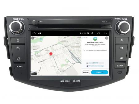 Navigatie Toyota RAV4 (2006-2012), Android 9, Octacore|PX5|/ 4GB RAM + 64GB ROM cu DVD, 7 Inch - AD-BGWRAV7P513