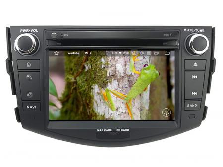 Navigatie Toyota RAV4 (2006-2012), Android 9, Octacore|PX5|/ 4GB RAM + 64GB ROM cu DVD, 7 Inch - AD-BGWRAV7P511