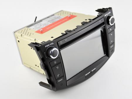 Navigatie Toyota RAV4 (2006-2012), Android 9, Octacore|PX5|/ 4GB RAM + 64GB ROM cu DVD, 7 Inch - AD-BGWRAV7P517