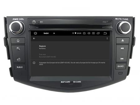 Navigatie Toyota RAV4 (2006-2012), Android 9, Octacore|PX5|/ 4GB RAM + 64GB ROM cu DVD, 7 Inch - AD-BGWRAV7P59