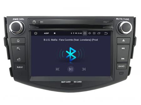 Navigatie Toyota RAV4 (2006-2012), Android 9, Octacore|PX5|/ 4GB RAM + 64GB ROM cu DVD, 7 Inch - AD-BGWRAV7P55