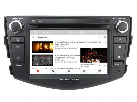 Navigatie Toyota RAV4 (2006-2012), Android 9, Octacore|PX5|/ 4GB RAM + 64GB ROM cu DVD, 7 Inch - AD-BGWRAV7P510