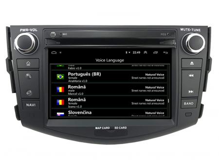 Navigatie Toyota RAV4 (2006-2012), Android 9, Octacore|PX5|/ 4GB RAM + 64GB ROM cu DVD, 7 Inch - AD-BGWRAV7P58