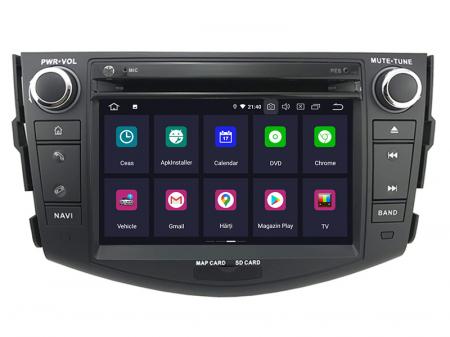 Navigatie Toyota RAV4 (2006-2012), Android 9, Octacore|PX5|/ 4GB RAM + 64GB ROM cu DVD, 7 Inch - AD-BGWRAV7P51