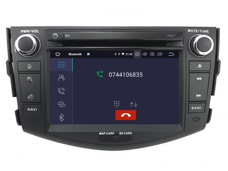 Navigatie Toyota RAV4 (2006-2012), Android 9, Octacore|PX5|/ 4GB RAM + 64GB ROM cu DVD, 7 Inch - AD-BGWRAV7P54