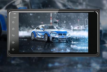 Navigatie Toyota RAV4, Corolla, Hilux, Android 9.1, QUADCORE MTK  / 2GB RAM + 32GB ROM, 7 inch - AD-BGPTOYOTA2DIN2GB16