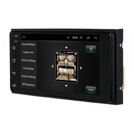 Navigatie Toyota RAV4, Corolla, Hilux, Android 9.1, QUADCORE MTK  / 2GB RAM + 32GB ROM, 7 inch - AD-BGPTOYOTA2DIN2GB15