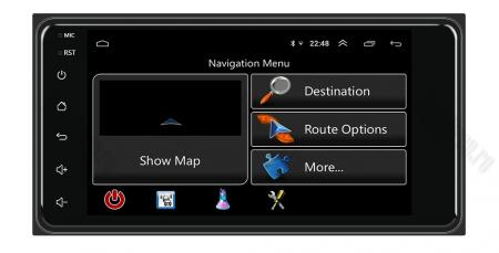 Navigatie Toyota RAV4, Corolla, Hilux, Android 8.1, QUADCORE|MTK| / 1GB RAM, 7 inch - AD-BGPTOYOTA2DIN6