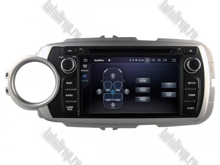 NAVIGATIE Toyota Yaris (2012-2016), ANDROID 9, Octacore|PX5|/ 4GB RAM + 64GB ROM cu DVD, 7 Inch - AD-BGWYARIS4P58