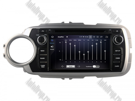 NAVIGATIE Toyota Yaris (2012-2016), ANDROID 10, Octacore|PX5|/ 4GB RAM + 64GB ROM cu DVD, 7 Inch - AD-BGWYARIS4P55