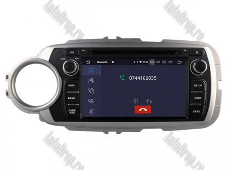 NAVIGATIE Toyota Yaris (2012-2016), ANDROID 9, Octacore|PX5|/ 4GB RAM + 64GB ROM cu DVD, 7 Inch - AD-BGWYARIS4P54
