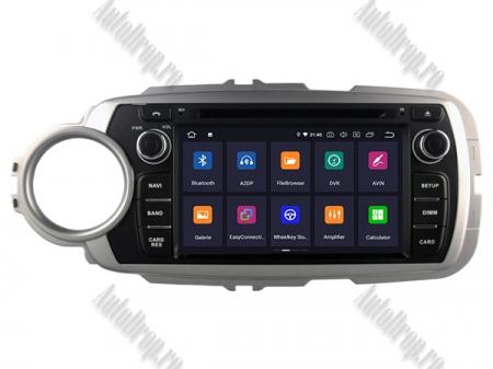 NAVIGATIE Toyota Yaris (2012-2016), ANDROID 9, Octacore|PX5|/ 4GB RAM + 64GB ROM cu DVD, 7 Inch - AD-BGWYARIS4P52