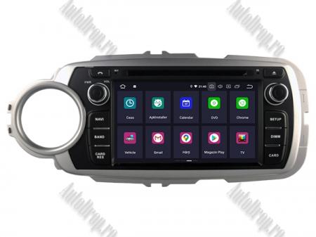 NAVIGATIE Toyota Yaris (2012-2016), ANDROID 9, Octacore|PX5|/ 4GB RAM + 64GB ROM cu DVD, 7 Inch - AD-BGWYARIS4P51