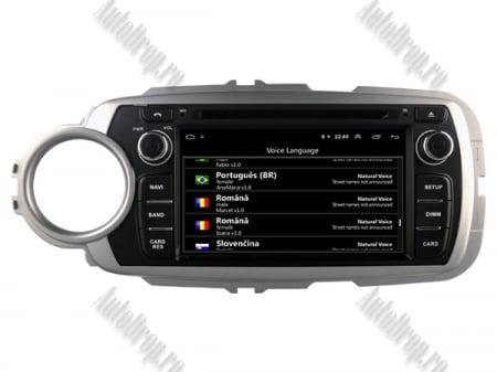 NAVIGATIE Toyota Yaris (2012-2016), ANDROID 9, Octacore|PX5|/ 4GB RAM + 64GB ROM cu DVD, 7 Inch - AD-BGWYARIS4P512