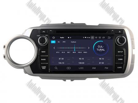 NAVIGATIE Toyota Yaris (2012-2016), ANDROID 9, Octacore|PX5|/ 4GB RAM + 64GB ROM cu DVD, 7 Inch - AD-BGWYARIS4P53