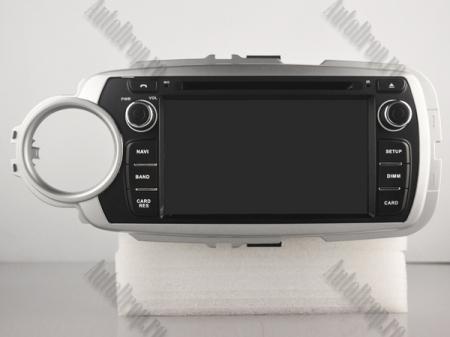 NAVIGATIE Toyota Yaris (2012-2016), ANDROID 9, Octacore|PX5|/ 4GB RAM + 64GB ROM cu DVD, 7 Inch - AD-BGWYARIS4P517
