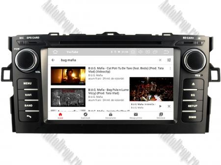 NAVIGATIE Toyota Auris (2007-2011), ANDROID 10, Octacore|PX5|/ 4GB RAM + 64GB ROM cu DVD, 7 Inch - AD-BGWAURIS1P59
