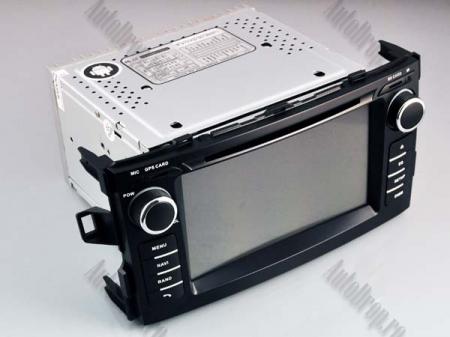 NAVIGATIE Toyota Auris (2007-2011), ANDROID 10, Octacore|PX5|/ 4GB RAM + 64GB ROM cu DVD, 7 Inch - AD-BGWAURIS1P516