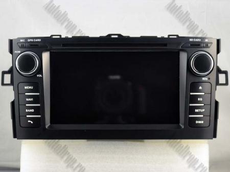 NAVIGATIE Toyota Auris (2007-2011), ANDROID 10, Octacore|PX5|/ 4GB RAM + 64GB ROM cu DVD, 7 Inch - AD-BGWAURIS1P515